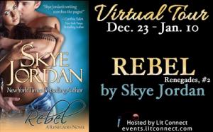 Tour Badge-Rebel by Skye Jordan