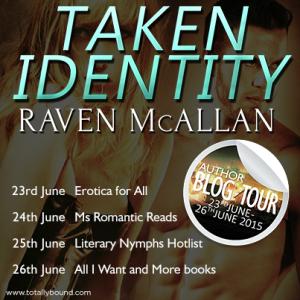 Raven McAllan_Taken Identity_BlogTour_BlogDates_final